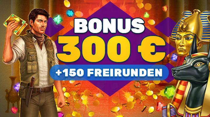 PlayAmo Casino - 150 Freispiele bei Einzahlungen
