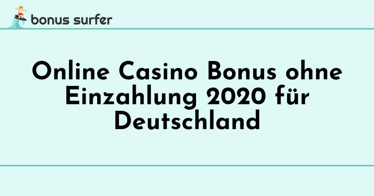 Beste Casino Bonus Ohne Einzahlung