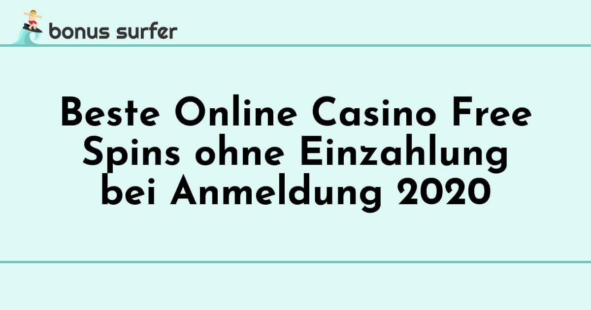 Gratis Spins Online Casino Ohne Einzahlung
