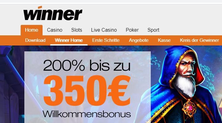 winner casino ohne einzahlung