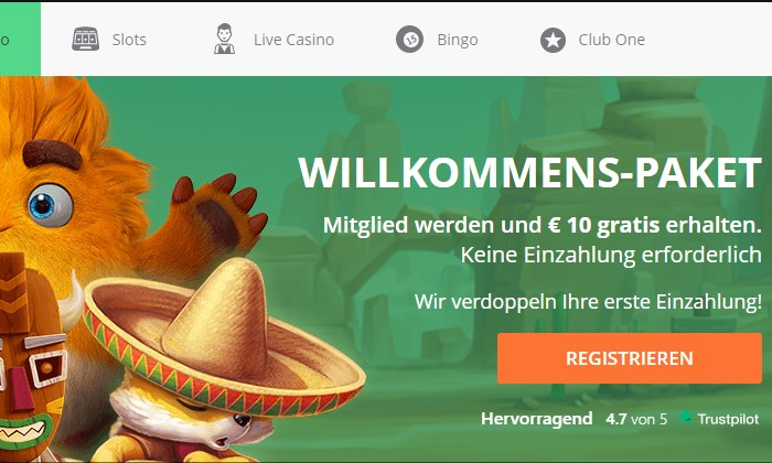 one casino bonus ohne einzahlung