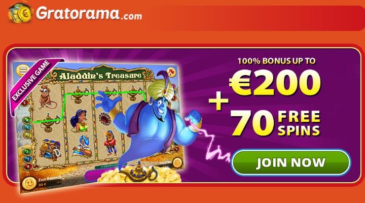 gratorama casino 70 freispiele