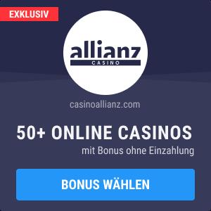 casino bonus ohne einzahlung 2021
