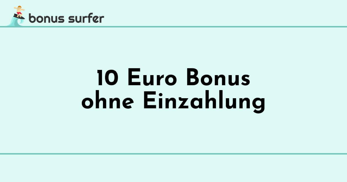 10 euro bonus