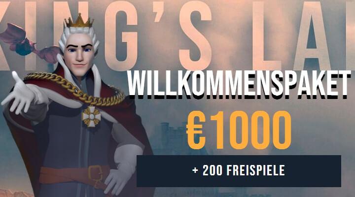 king billy casino bonus